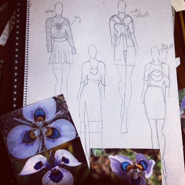 New designs powerd by peacock flower,trends 2015-16 (Celia Paliaikou)