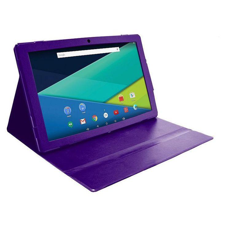 Visual Land Prestige Elite 13Q Quad Core 64GB 13.3-Inch Android 5 Lollipop Tablet with Profolio Case (ME13QTC64MAG),