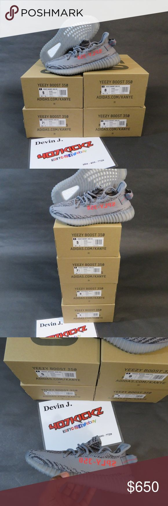 Yeezy v2 Beluga 2.0 Adidas Yeezy Boost 350 V2 Beluga 2.0 [AH2203] (2017) | Sizes 5, 9, and 12 Left | DS BRAND NEW | Original Box , 100% Authentic as Always (purchased from adidas site) I understand the hesitation you may have buying Yeezys but i can ensure you these are all authentic. I can print order screenshots and charges from adidas.com to include in the order to encourage you to buy with extreme confidence. I run a very legit business and take my reputation seriously. Thanks for ...