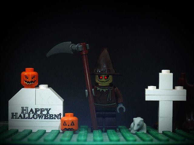 lego halloween minifigures set