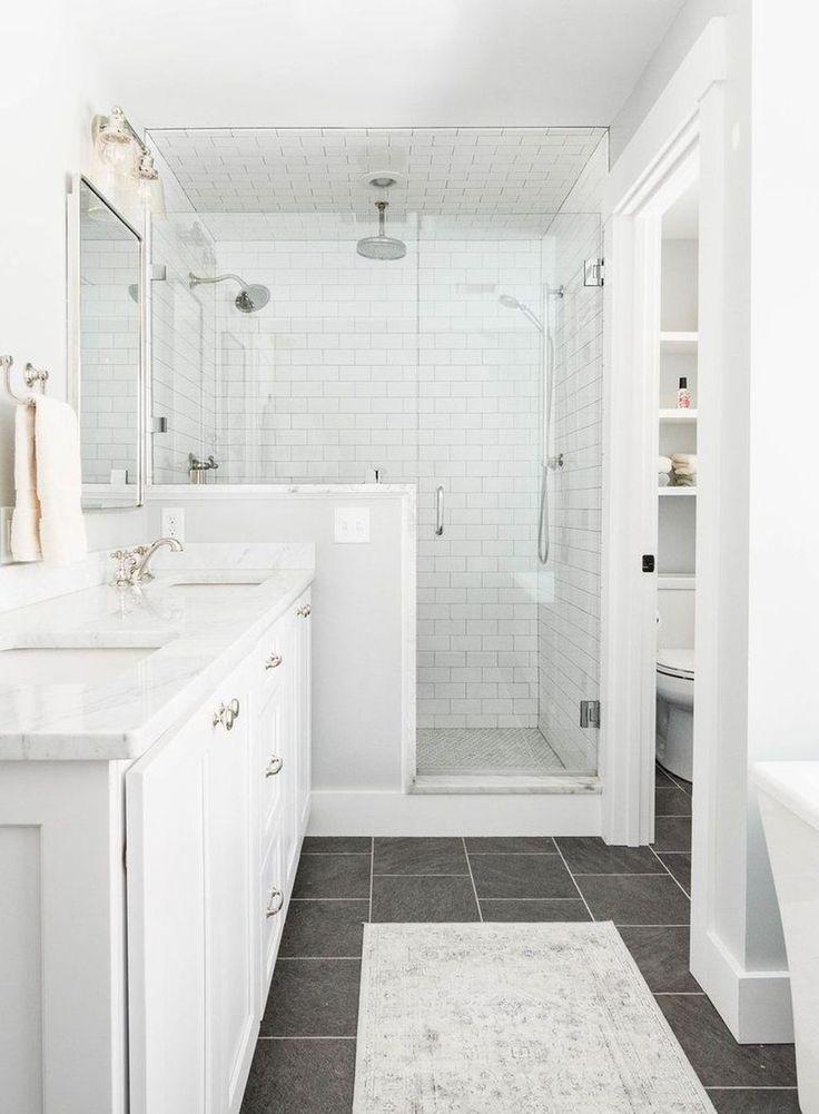 Master Bathroom In 2020 Master Bathroom Design Minimalist Small Bathrooms Master Bathroom Renovation