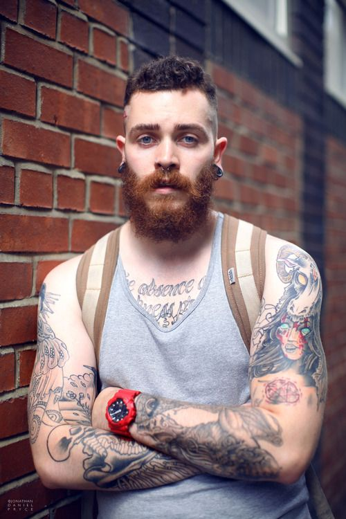 153 best beard me up images on pinterest moustaches for Red beard tattoo