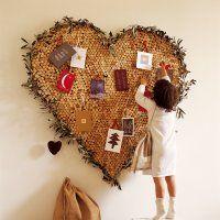 Un coeur en bouchons de liège