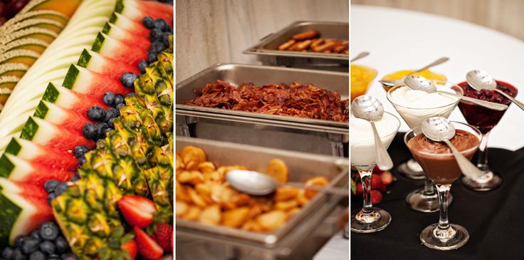 Charlottetown Wedding Photography: Stephanie and Tyler  -Breakfast for the wedding meal!