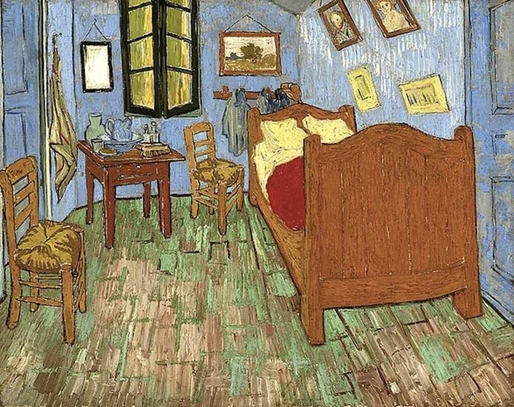 The Bedroom in Arles, 1889 Vincent van Gogh Van gogh