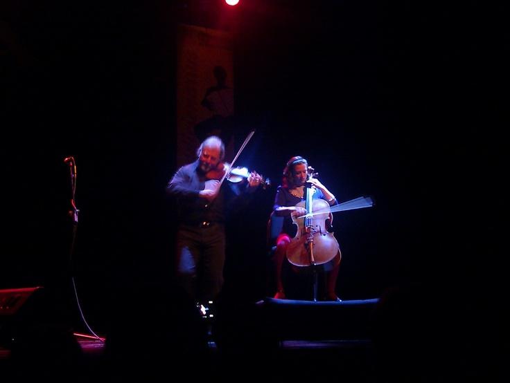Alasdair Fraser and Natalie Haas in concert, Barcelona 2011