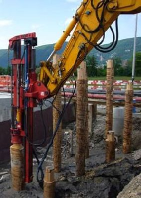 42 best images about const 150 methods materials on for Wood piling foundation