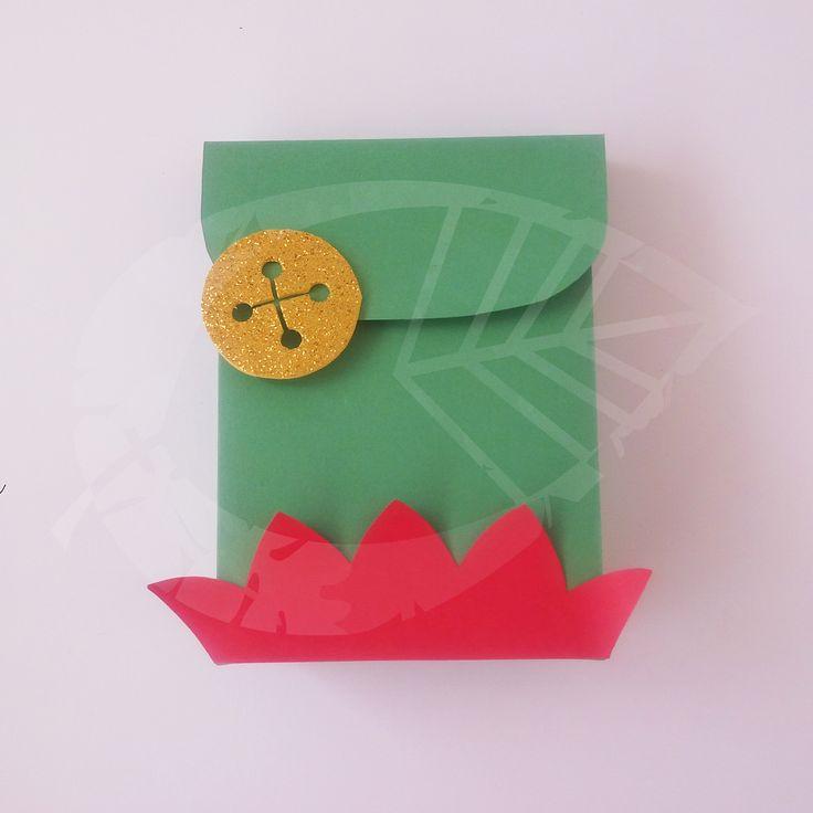 Caja Gorro de Duende. #Navidad #Christmas