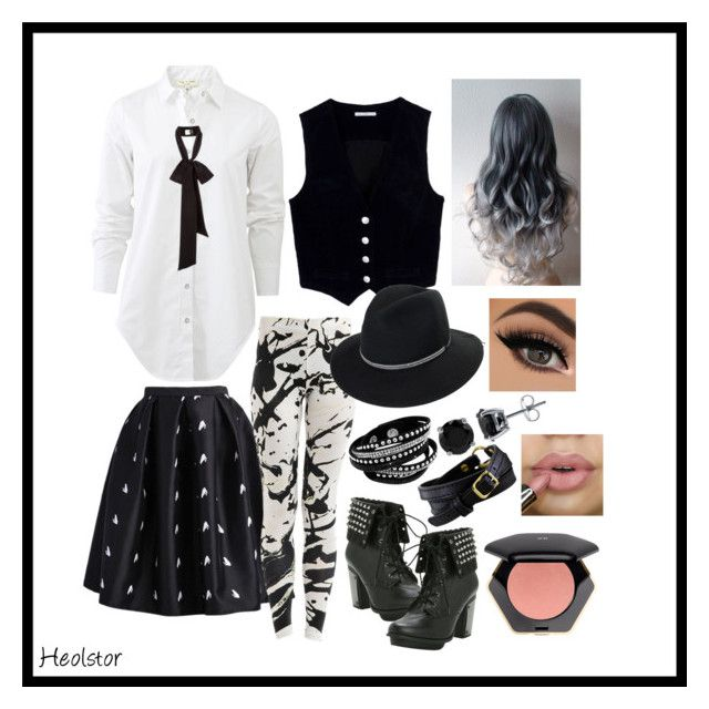 bored by maviskun on Polyvore featuring art