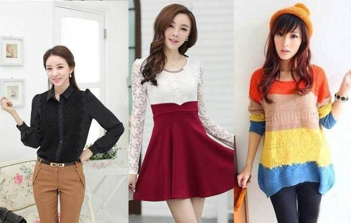 3 Model Pakaian Korea Wanita Paling Populer di Tahun Ini - http://www.rancahpost.co.id/20150940201/3-model-pakaian-korea-wanita-paling-populer-di-tahun-ini/