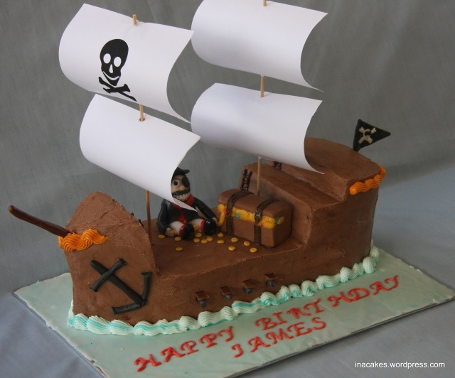 pirate cake: Pirate Party, Pirate Ships, Pirates, Pirate Cakes, Pirate Ship Cakes, Party Ideas, Birthday Ideas, Birthday Party, Birthday Cakes