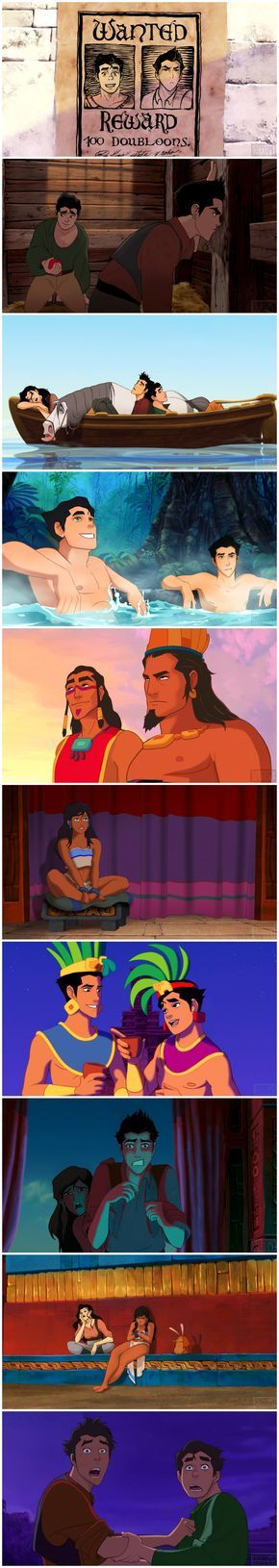 Legend of Korra - The Road to El Dorado parody soooo I'm guessing Korra n Maka did.... Uk..... The thing....