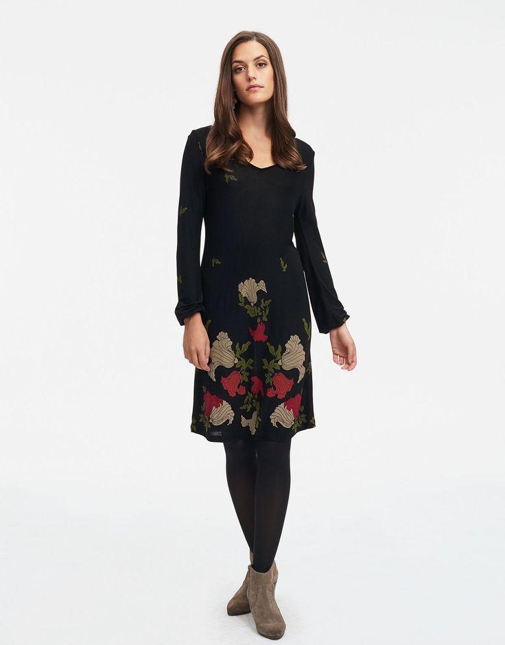 RHONDA tunic black