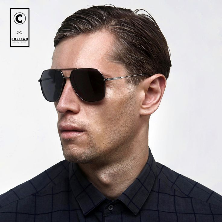 COLECAO New Polarized Glasses Mens Sunglasses for Men Driving HD Polariod Lens Anti-glare glasses Gafas de sol hombres c1510. Yesterday's price: US $57.29 (46.81 EUR). Today's price: US $18.33 (14.98 EUR). Discount: 68%.