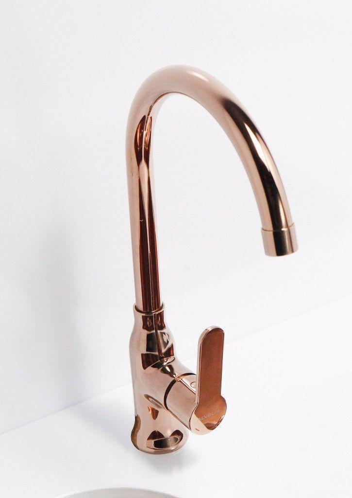 Alveus Monarch Slim Copper, kitchen mixer tap