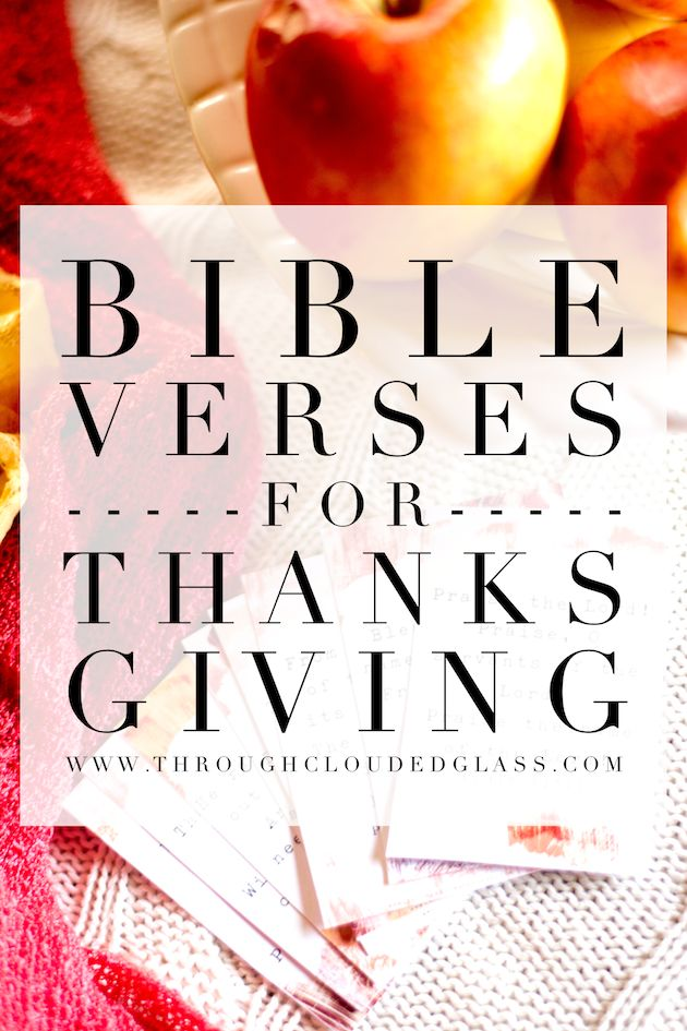 Best Thanksgiving Quotes From Bible: 10 Bible Verses For Thanksgiving