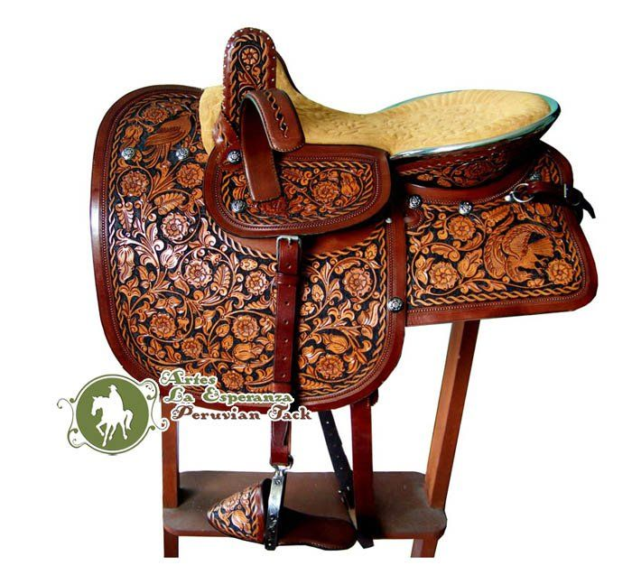Peruvian side saddle