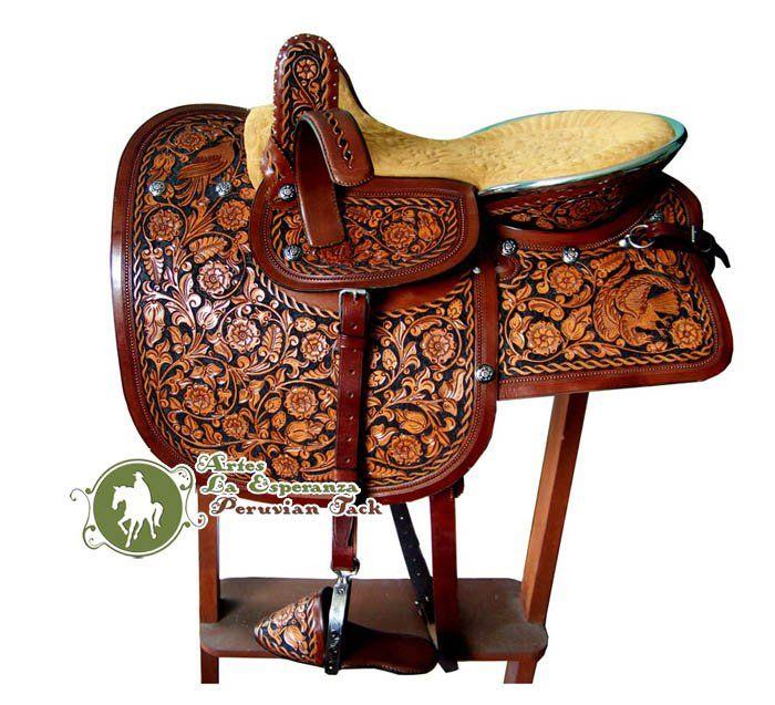 Peruvian side saddle