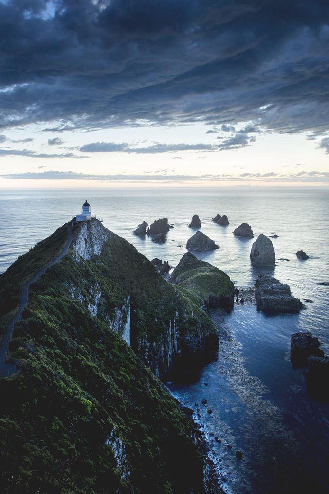 Cape Reinga - Nugget Point, New Zealand - Maori legend says this is where spirits leave after death...