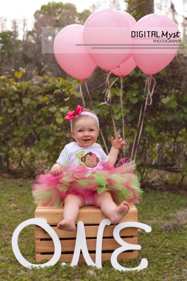 My Baby Turned One 1st Birthday Photo Shoot Ideas For