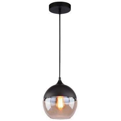LAMPA wisząca MANHATAN CHIC LA051/P Altavola industrialna OPRAWA zwis kula ball loft bursztynowa