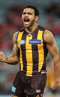 AFL 2015 Rd 16 - Sydney v Hawthorn 23.8 (146) to 7.15 (57) victory. Cyril Rioli at his best.