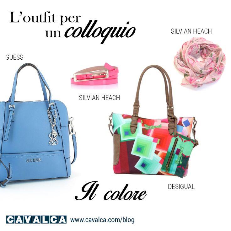 Borse #guess e #desigual Cintura e sciarpa #silvianheach #accessori #cavalca #moda