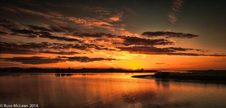 """Golden Glow"" of Opotiki, Bay of Plenty, New Zealand."