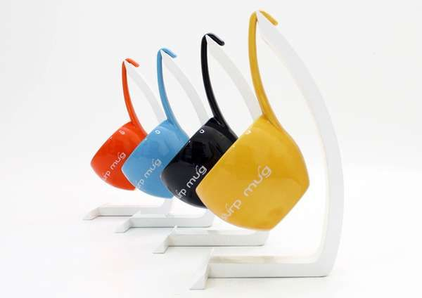 The Slurp Mug by DEDE DextrousDesign Promotes Easy Slurping #kitchen trendhunter.com