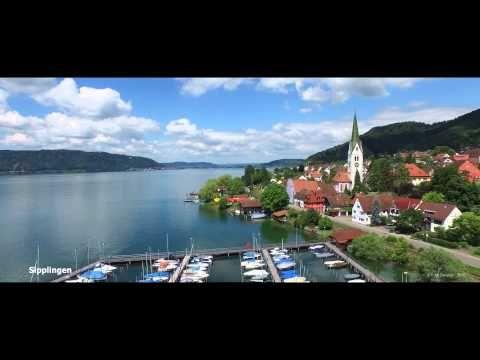 Der Bodensee von oben - Lake of Constance - Final - YouTube