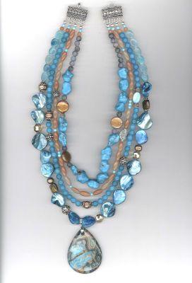 Turquoise Semi-precious Pendant Necklace_Michaels.com_instructions