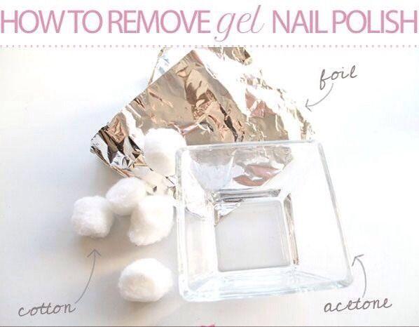 How To Remove Gel Nail Polish.. #Fashion #Beauty #Trusper #Tip