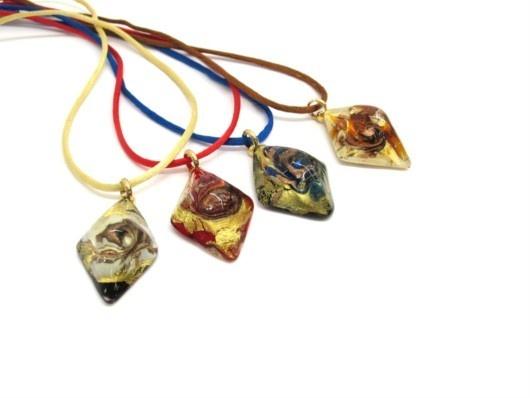 $29 Italian Murano Glass Pendant, info@bijuterie-online.ro.ro
