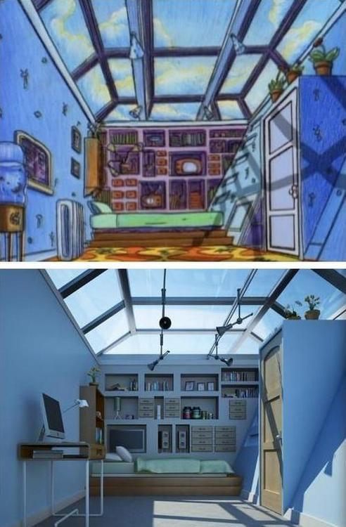 so basically arnold had one of the coolest rooms ever ha