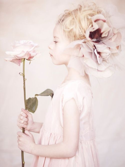 Petal soft pink Flowergirl ♥
