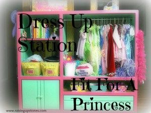 dress up station cover page
