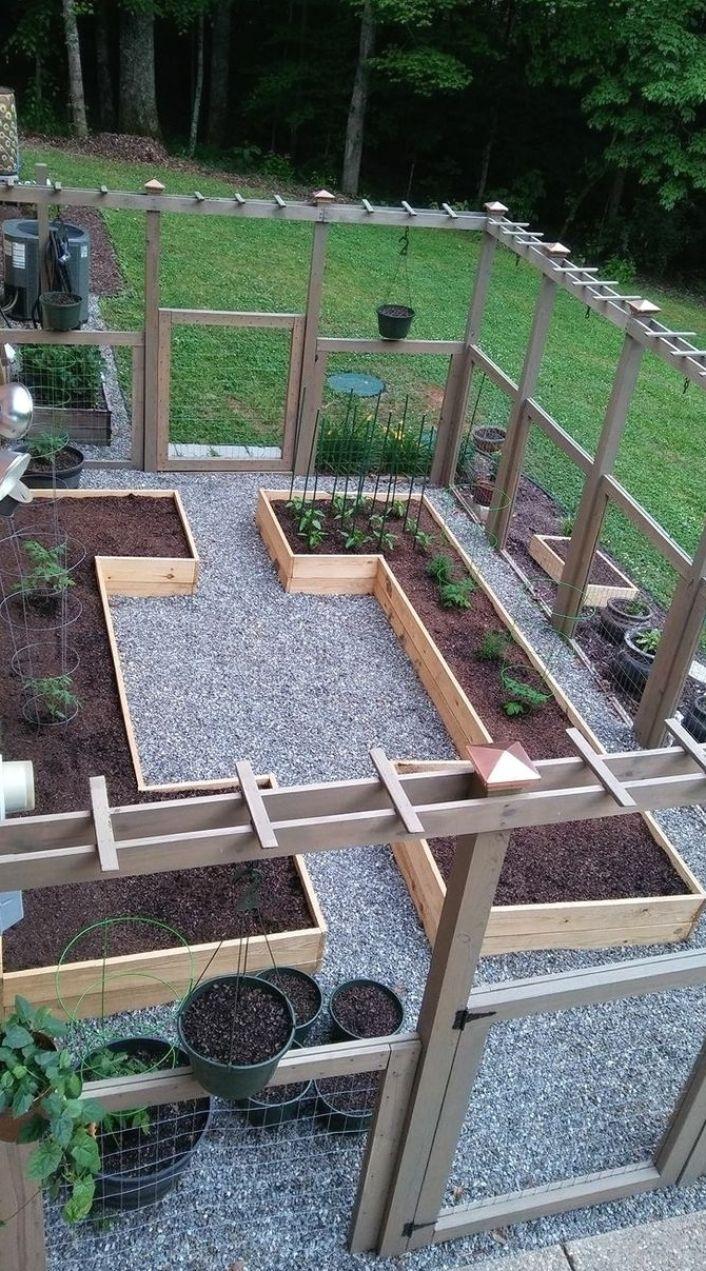 Cloture Garden Ideas In 2021 Raised Garden Vegetable Garden Design Garden Beds