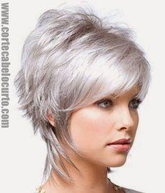 Lindo corte de cabelo curto  Visite: www.cortecabelocurto.com  #cabeloscurtos #Pelocorto