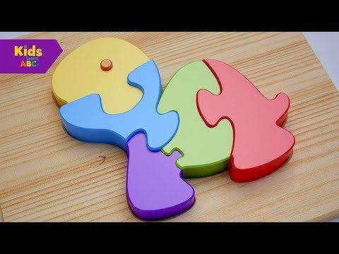 Learn Colors with Wooden Turtle Toy Kids Toddler | Nursery rhymes | Kidz Learn ABCs