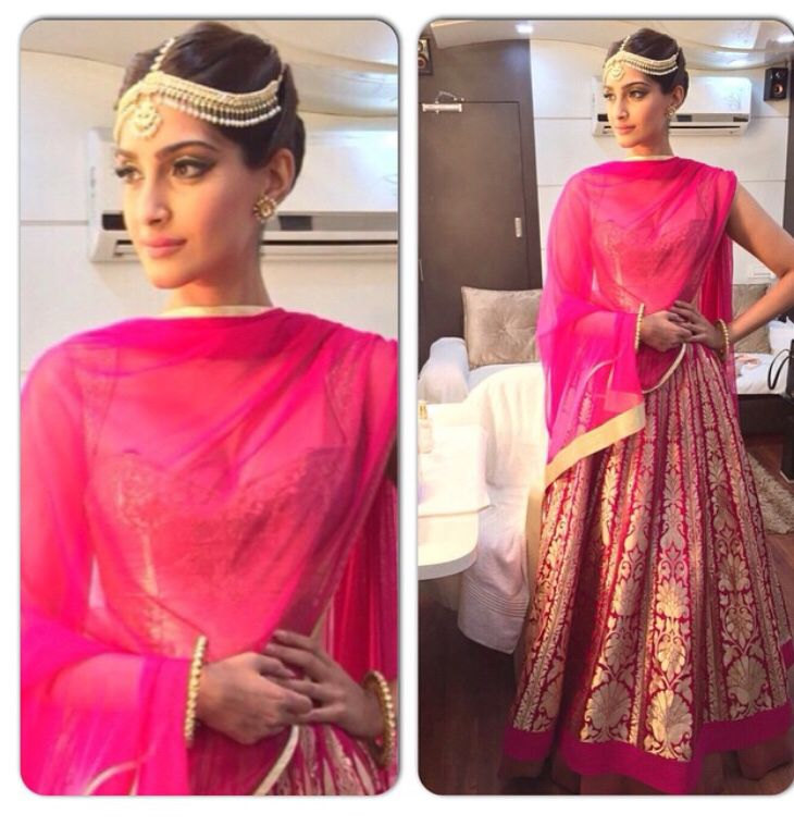Sonam Kapoor at Dolly ki Doli promotion #sonamkapoor #bollywoodtrends