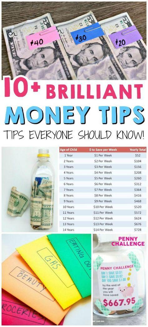 10+ Brilliant Money Tips! These are genius!