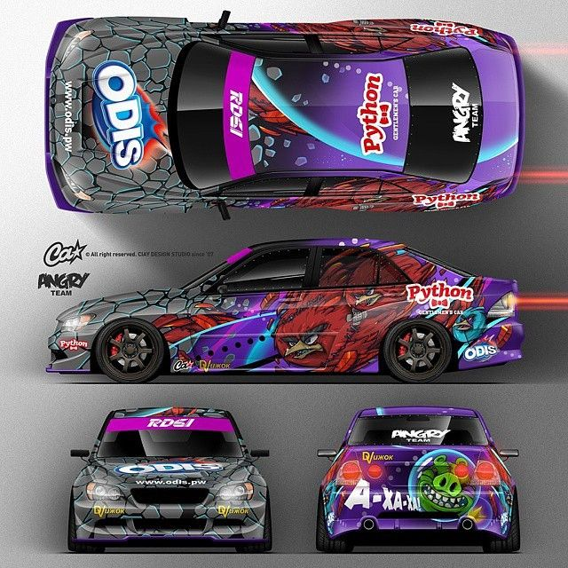 Angry Team Altezza Livery by @ciay #drifting #drift
