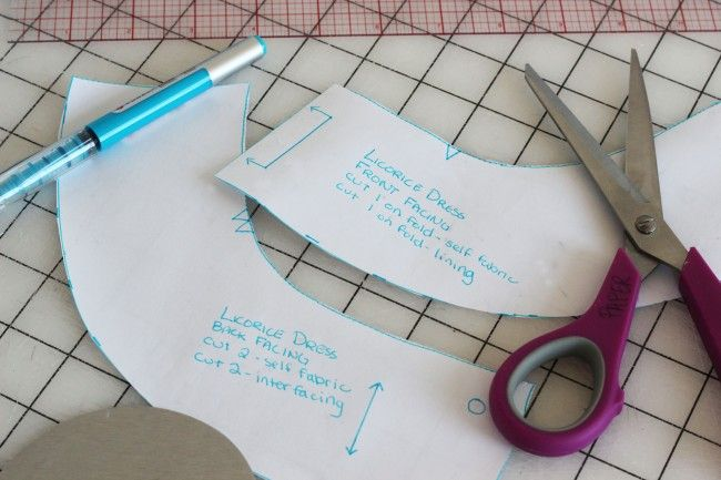 How to draft a facingFace Pattern, Sewing Techniques, Sewing Tips, Sewing Pattern, Finish Face, Draft Face, Face Piece, Colette Pattern, Face Tutorials