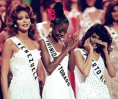 THOUGHTS OF MISS UNIVERSE 1998