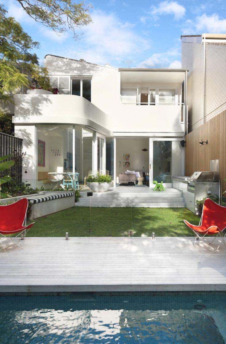 Terrace House By Luigi Rosselli Architects Pool