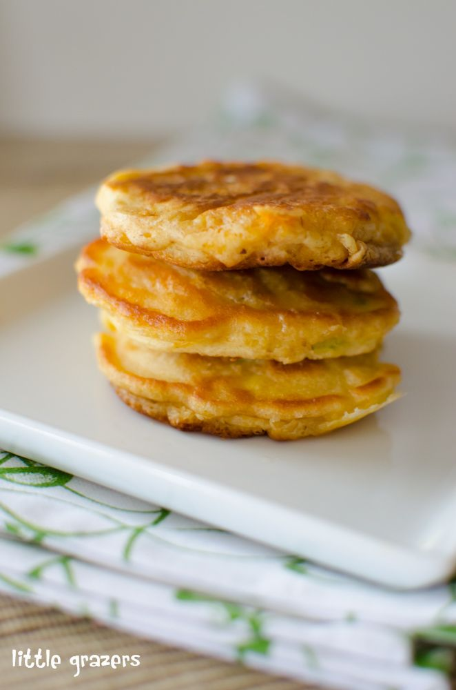 Cheese and sweetcorn fritters