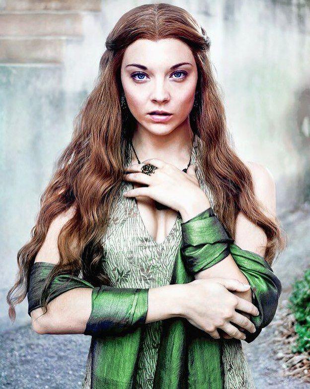Natalie Dormer as Margaery Tyrell #GameofThrones