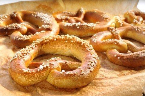 Немецкие соленые претцели