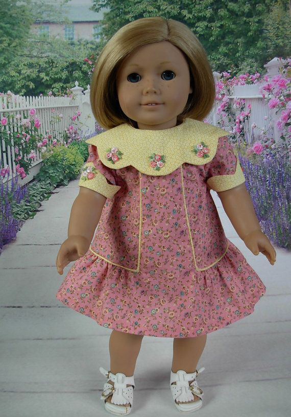 Pretty Floral Dress fits American Girl Doll and 18 inch dolls. $25.00