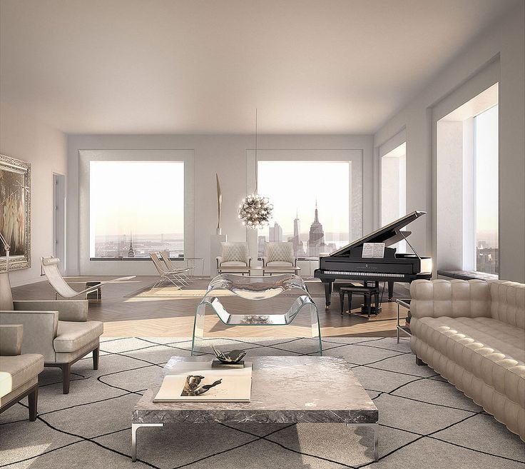 We NEED to Discuss This $95 Million NYC Penthouse: When your home is worth five of Kim Kardashian and Kanye West's massive $20 million estate, you'd better believe that it's going to be an absolute splendor.